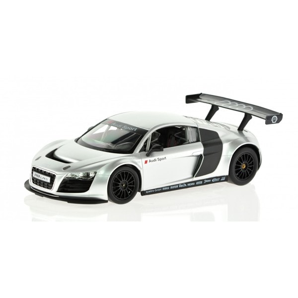 Rastar 1:14-scale Silver Audi R8 Model Car