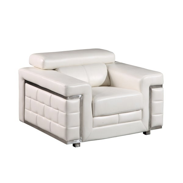 Blanche Faux Leather Chair