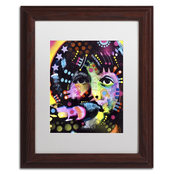 Dean Russo 'Paul McCartney' Matted Framed Art