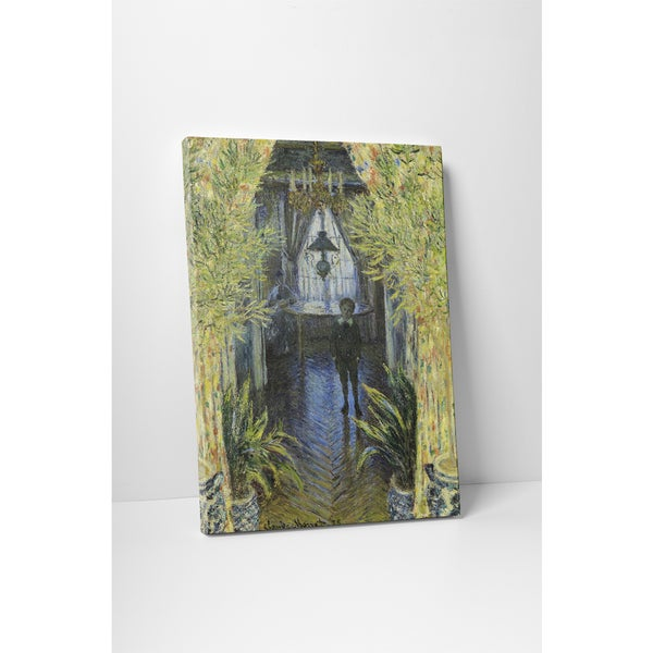 Classic Masters Claude Monet 'A Corner of the Apartment' Gallery Wrapped Canvas Wall Art
