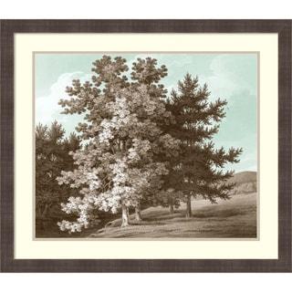 Framed Art Print 'Serene Trees I' by Edward Kennion 31 x 27-inch