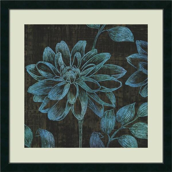 Framed Art Print 'Boudoir I: Floral' by MAJA 33 x 33-inch