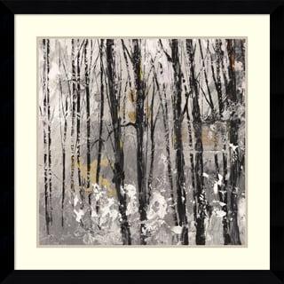 Framed Art Print 'Bosco I: Forest' by Christine Lucas 33 x 33-inch