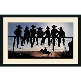 Framed Art Print 'The Lesson (Western)' by David R. Stoecklein 37 x 24-inch