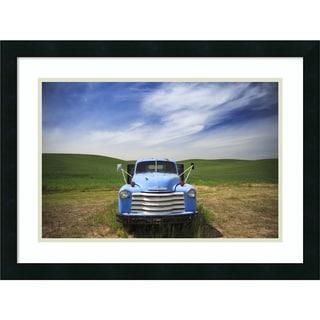 Framed Art Print 'Old Truck Palouse' by Jason Savage 24 x 18-inch