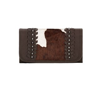 American West Cow Town Tri-Fold Wallet