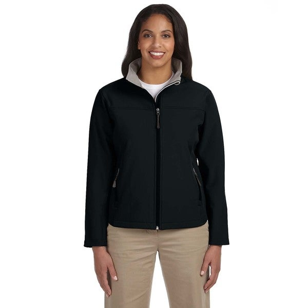 Soft Shell Women's Black Jacket