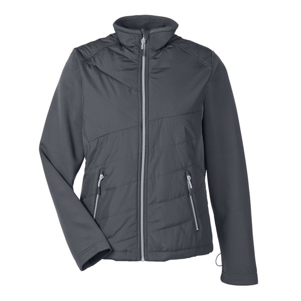Quantum Women's Interactive Hybrid Insulated Carbon/Carbon 456 Jacket