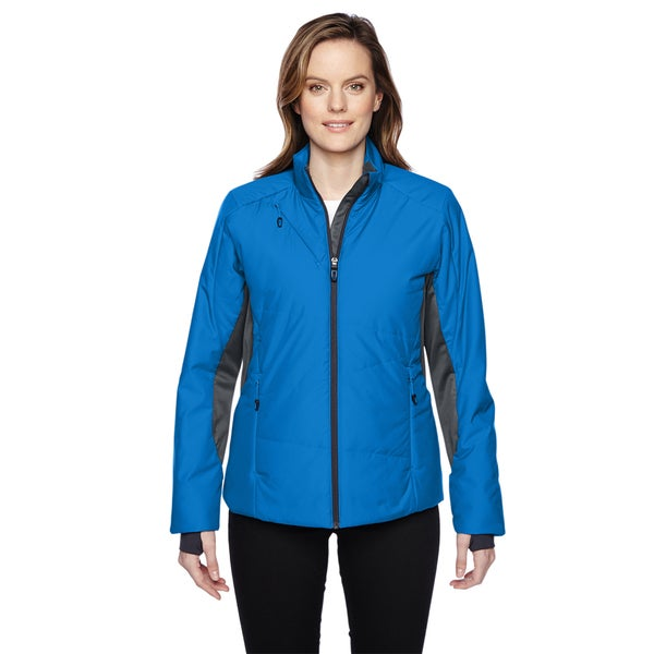 Immerge Women's Insulated Hybrid With Heat Reflect Technology Olympic Blue 447 Jacket