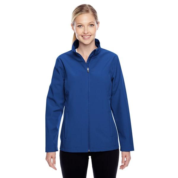 Leader Women's Soft Shell Sport Royal Jacket