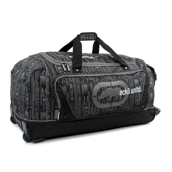 Ecko Unlimited Steam Large 32-inch Rolling Duffel Bag -  Ecko Unltd, EK-WD-A1432-RD
