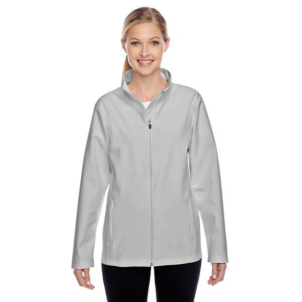 Leader Women's Soft Shell Sport Silver Jacket