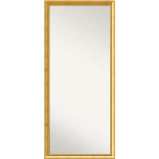 Wall Mirror Choose Your Custom Size - Oversized, Townhouse Gold Wood