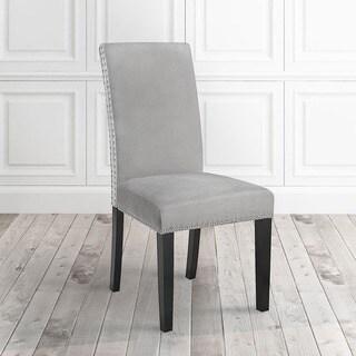 Savio Stud Velvet Dining Chairs (Set of 2)