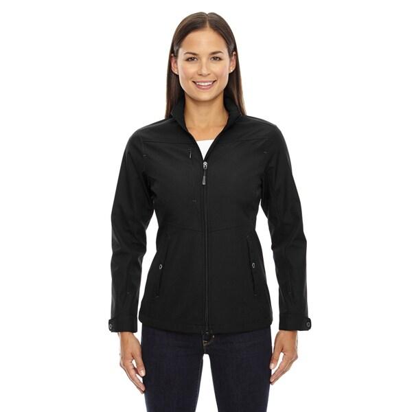 Forecast Three-Layer Light Bonded Women's Travel Soft Shell Black 703 Jacket