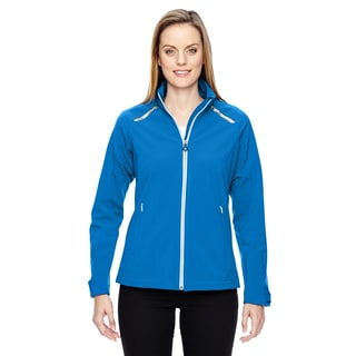 Excursion Women's Soft Shell With Laser Stitch Accents Olympic Blue 447 Jacket
