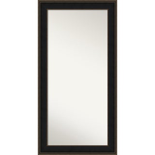 Wall Mirror Choose Your Custom Size - Oversized, Mezzanine Espresso Wood
