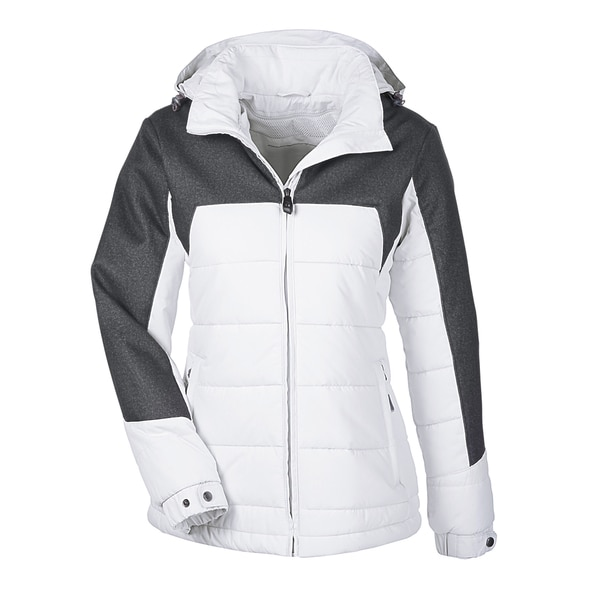 Excursion Women's Meridian Insulated With Melange Print Crystal Qrt/Dark Grey 695 Jacket