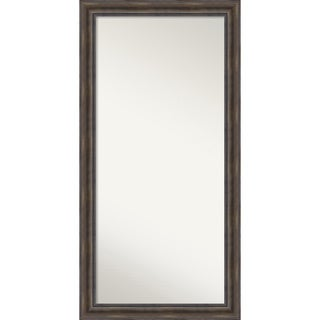 Wall Mirror Choose Your Custom Size - Oversize Rustic Pine Wood