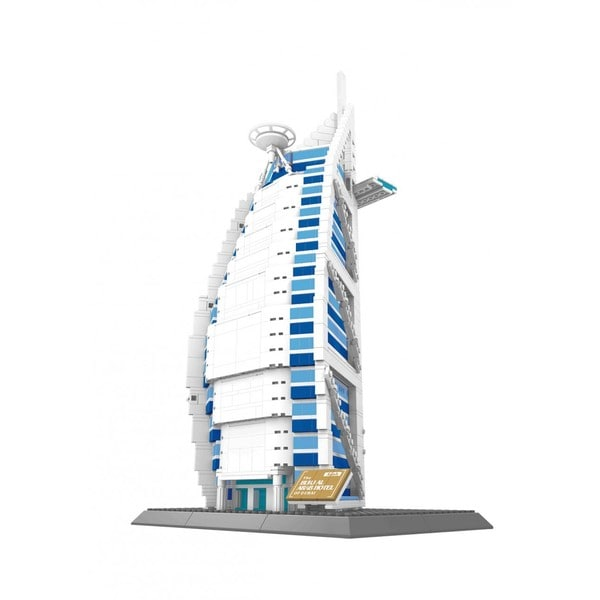 Wange The Burjal Arab Hotel of Dudai Model Kit