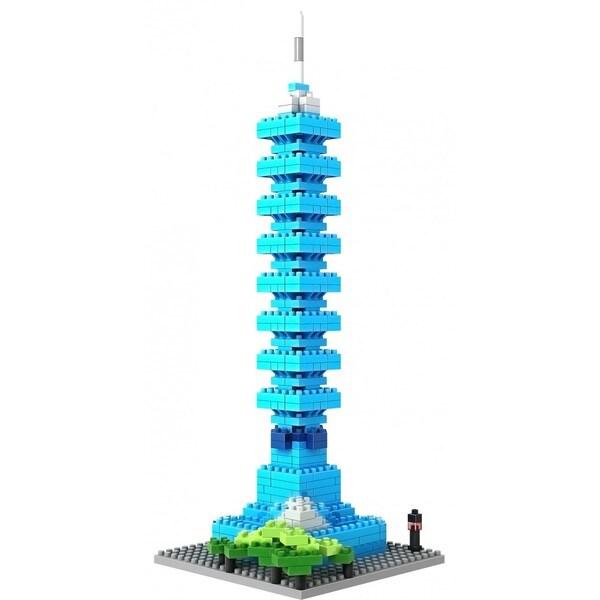Wange Taipei 101 Building-block set