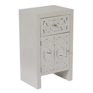 Heather Ann Hand-crafted Beveled Mirror Cabinet