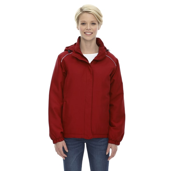 Brisk Women's Insulated Classic Red 850 Jacket