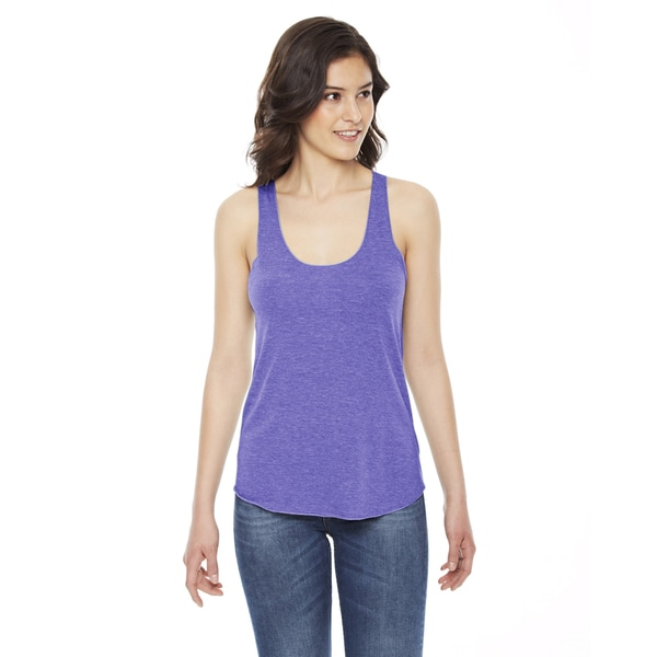Triblend Women's Racerback Tri Orchid Tank