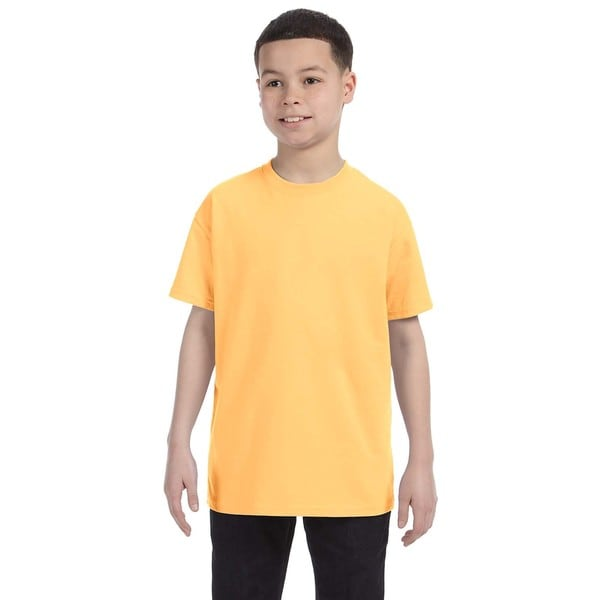 Heavy Cotton Boys' T-Shirt Yellow Haze Tank
