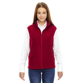 Voyage Women's Classic Red 850 Fleece Vest