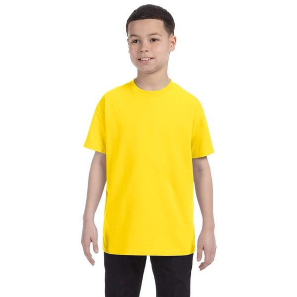 Gildan Boys' Daisy Heavy Cotton T-shirt