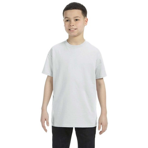 Heavy Cotton Boys' Ash Grey T-Shirt