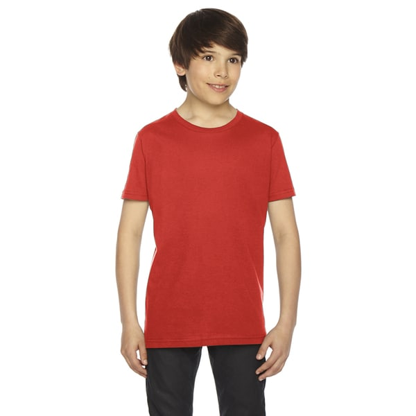 Fine Boys' Jersey Orange Short-Sleeve Boys' T-Shirt