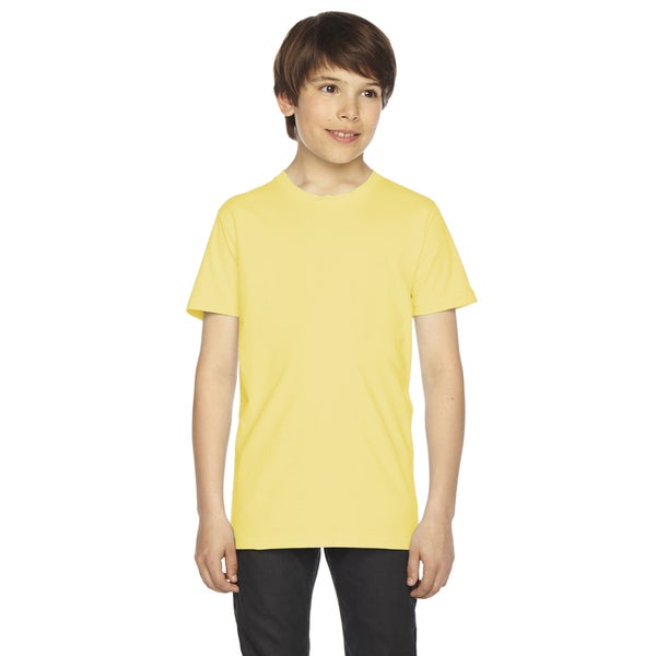 Fine Boys' Jersey Short-Sleeve Boys' Lemon T-Shirt