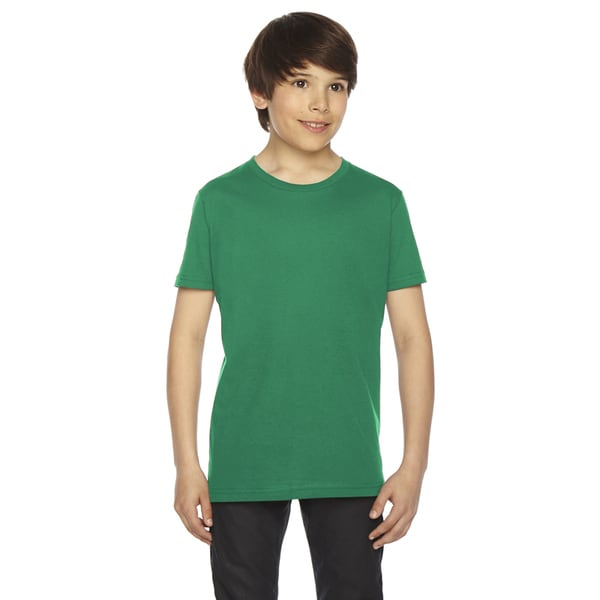Fine Boys' Jersey Short-Sleeve Boys' Kelly Green T-Shirt