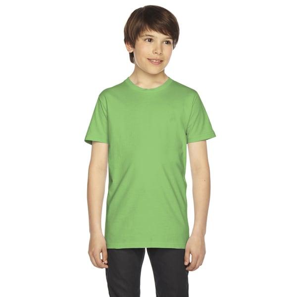 Fine Boys' Jersey Short-Sleeve Boys' Grass T-Shirt