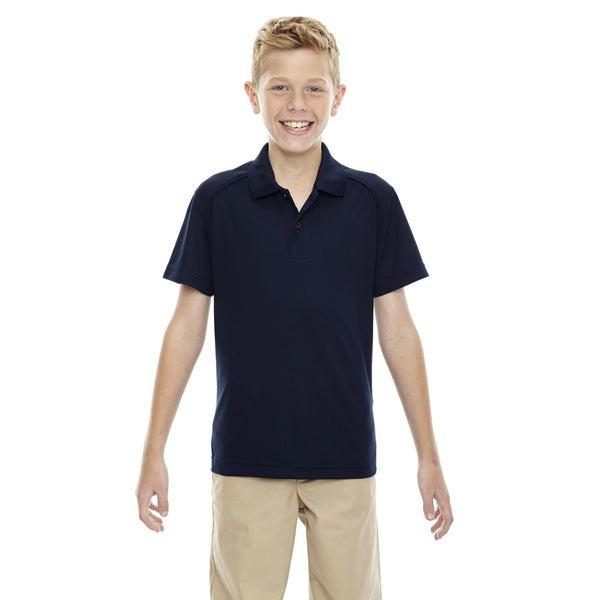 Eperformance Boys' Shield Snag Protection Short-Sleeve Classic Navy 849 Polo
