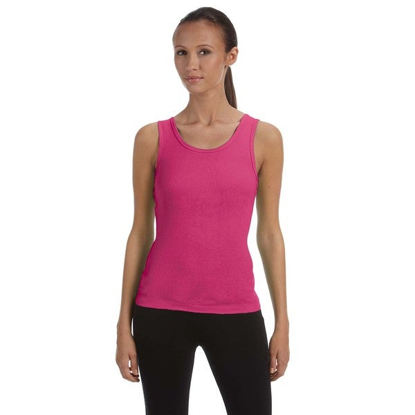 Stretch Rib Women's Berry Tank