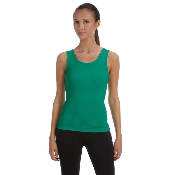 Stretch Rib Women's Kelly Tank