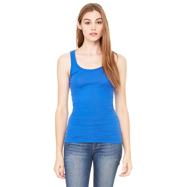 Sheer Women's Mini Rib True Royal Tank