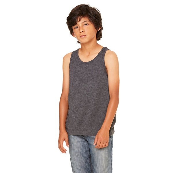 Jersey Boys' Dark Grey Heather Tank