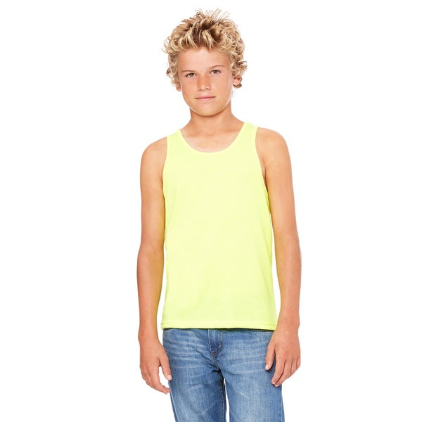 Jersey Boys' Neon Yellow Tank
