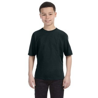 Lightweight Boys' Black T-Shirt