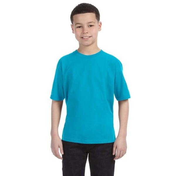 Lightweight Boys' Caribbean Blue T-Shirt