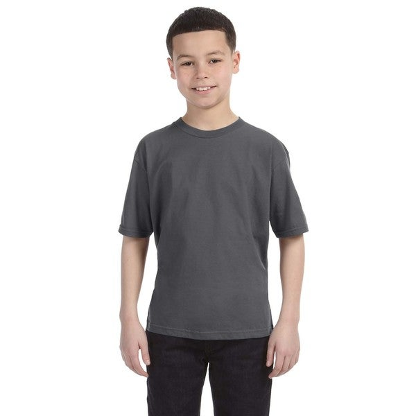 Lightweight Boys' Charcoal T-Shirt