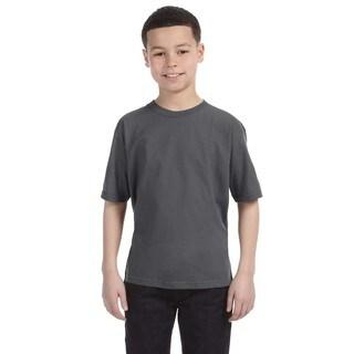 Lightweight Boys' Charcoal T-Shirt