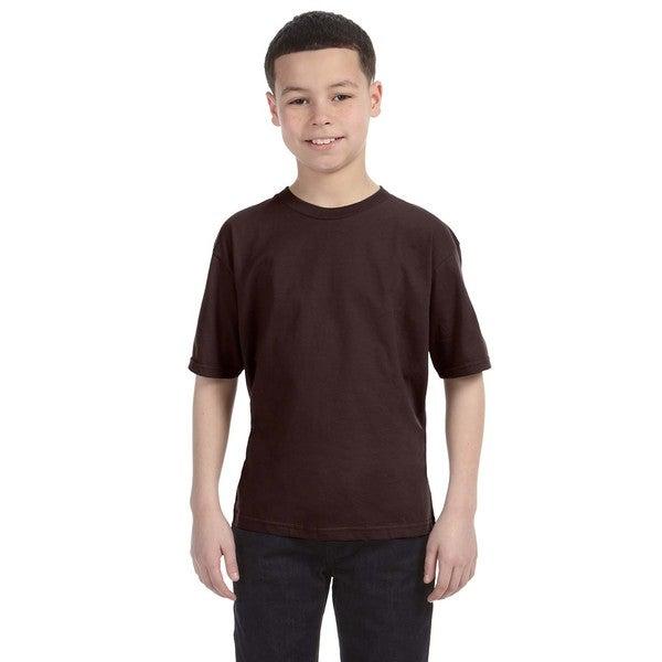 Lightweight Boys' Chocolate T-Shirt