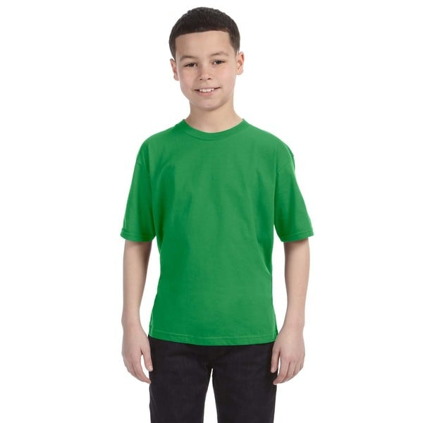 Lightweight Boys' Green Apple T-Shirt