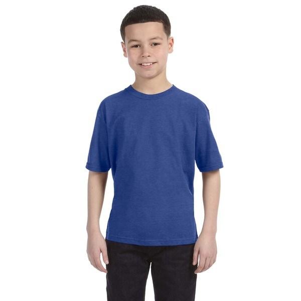 Lightweight Boys' Heather Blue T-Shirt