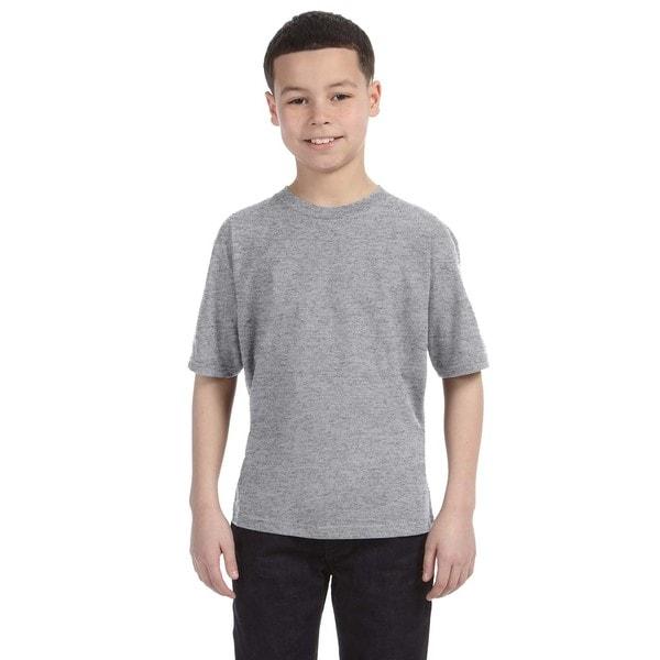 Lightweight Boys' Heather Grey T-Shirt
